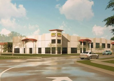 Sky Power Sports Architectural Rendering