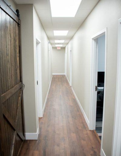 McKee Office Hallway