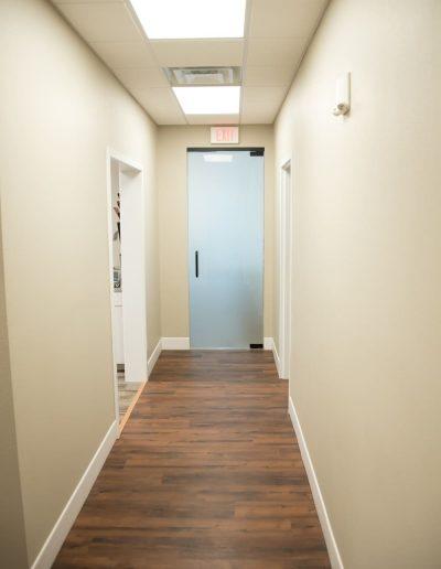 McKee Construction Hallway
