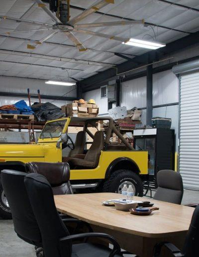 McKee Construction - Warehouse Garage