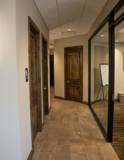 McKee Construction Hallway by Conference Room