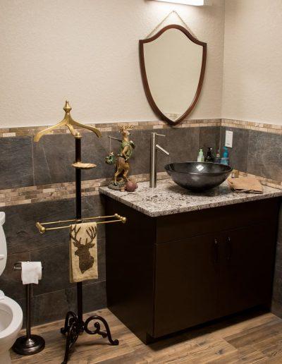 McKee Office Bathroom